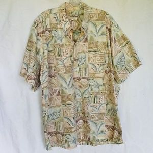 Cooke Street Honolulu aloha Hawaiian shirt, XL